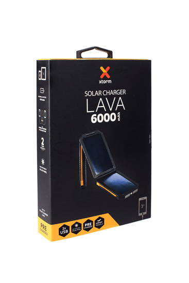 Lava solar charger - AM114 verpakking